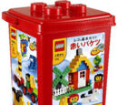 7616 LEGO Basic Red Bucket set