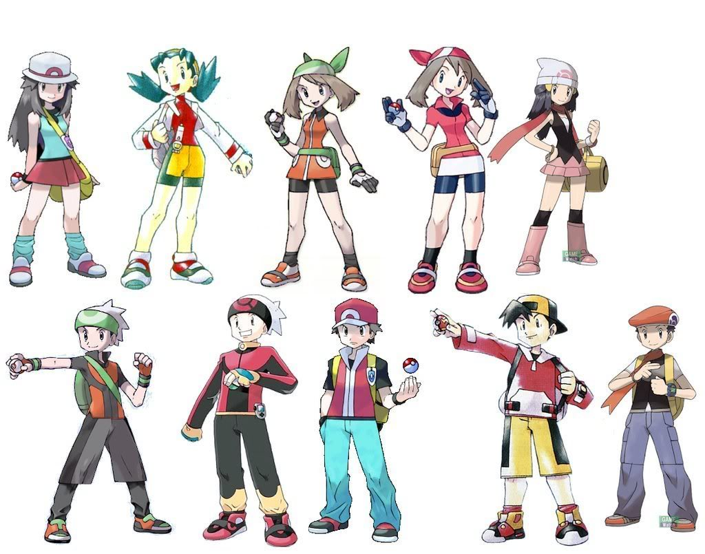 HD wallpapers all male hairstyles in pokemon x and y