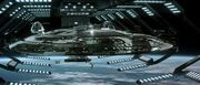 USS Enterprise-E in drydock 2