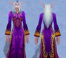 Праздничное лиловое платье