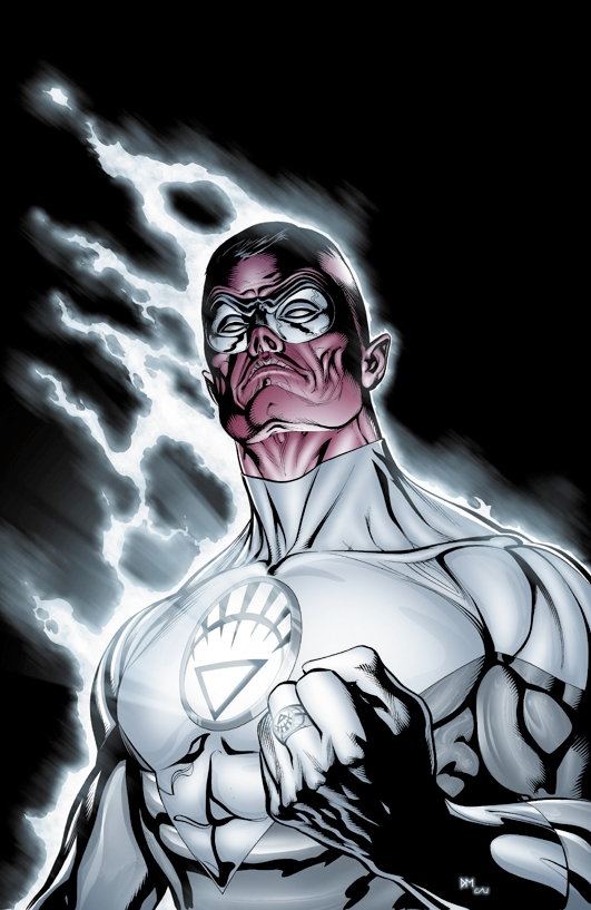White Lantern Corps member White Lantern Flash Art
