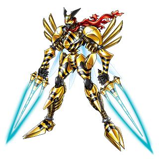 Digimon Favorito TigerVespamon_b