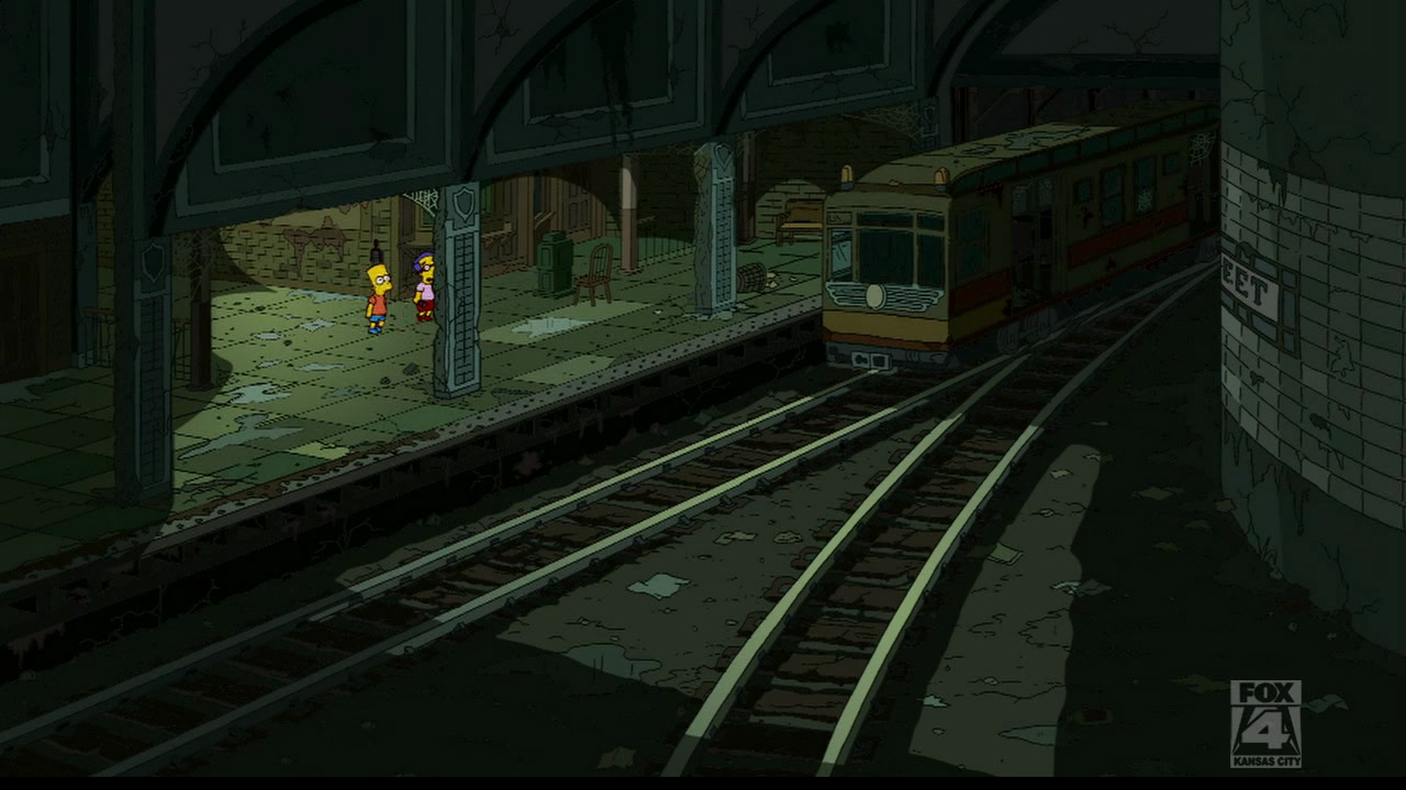Springfield Subway System Simpsons Wiki