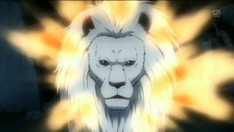 Alexzander X Cross (POSSIBLE SPOILERS READ AT YOUR OWN RISK)  479px-Besta_Lion_Form