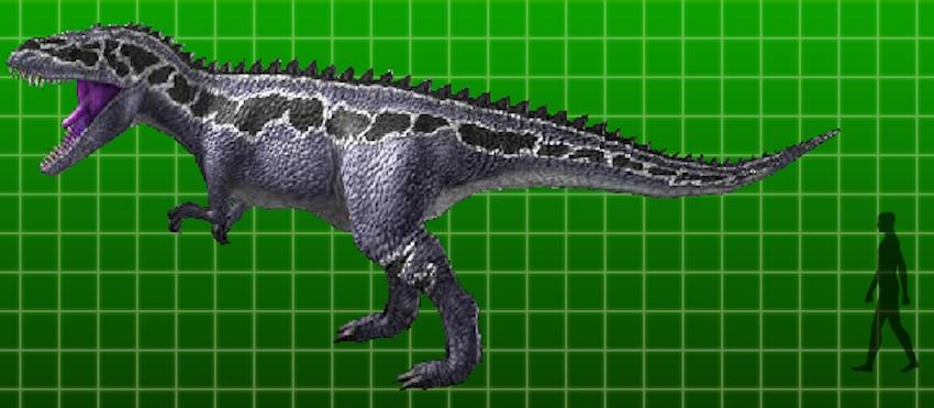 full-sized MegalosaurusDinosaur King Megalosaurus Card