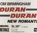 Duran Duran - (1981) - First German Tour