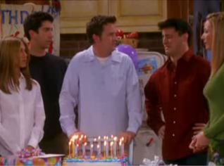 The One Where They All Turn Thirty Friends Central Tv
