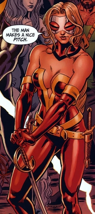 Elaine Marsh-Morton (New Earth) - DC Comics Database First Man And Woman On Earth