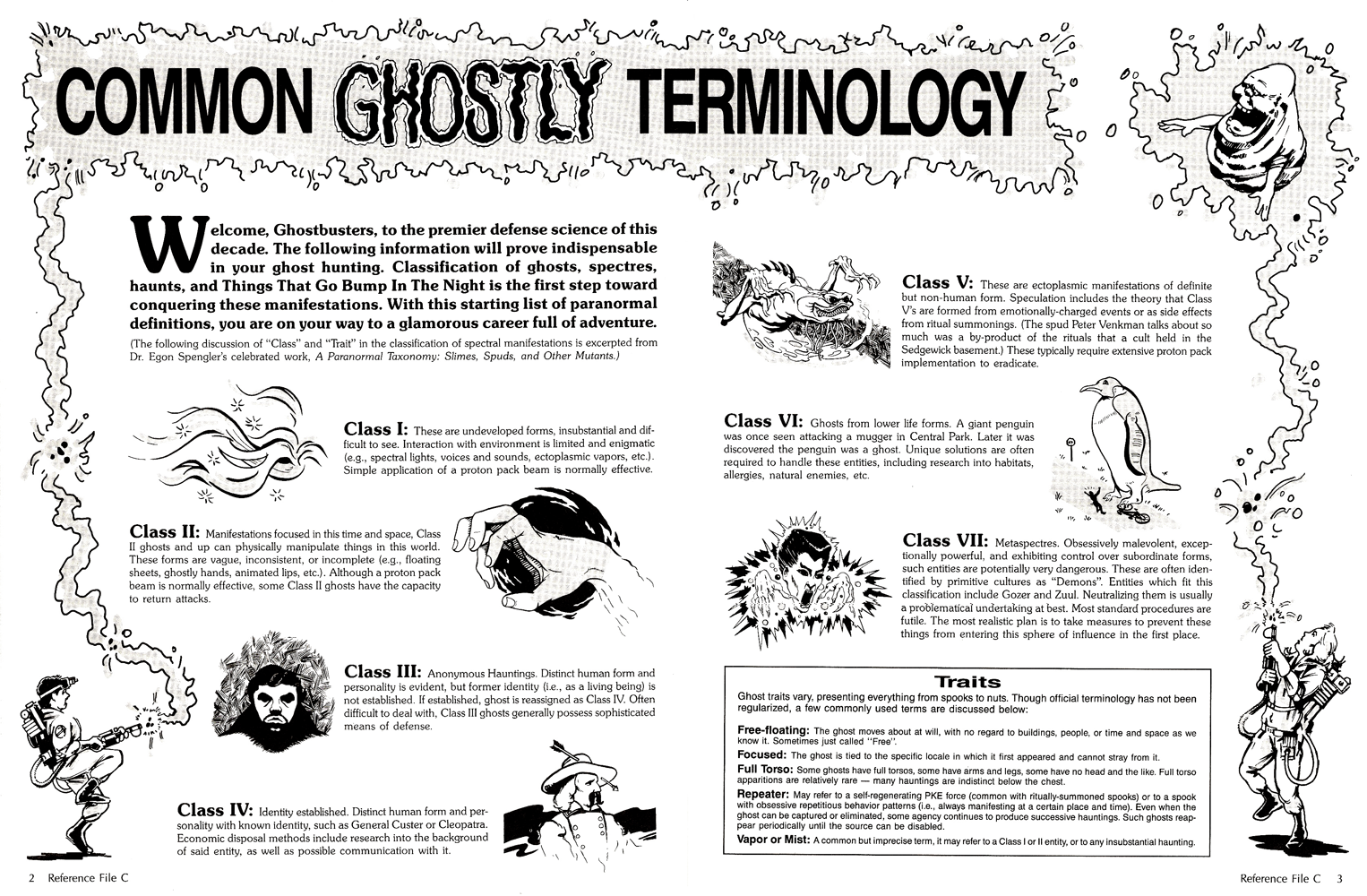 ghostbusters role playing game pdf