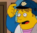Homer Simpson (Police Cops)