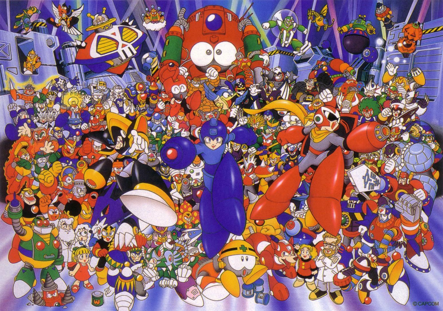 Megaman: Una Saga Legendaria