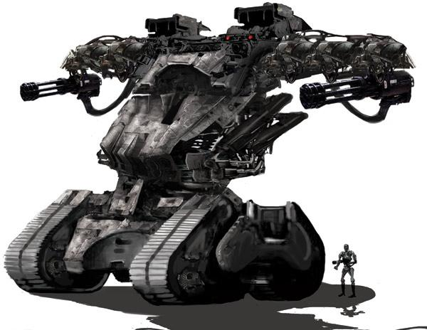 Terminatorsalvation 2Terminator Salvation Hunter Killer