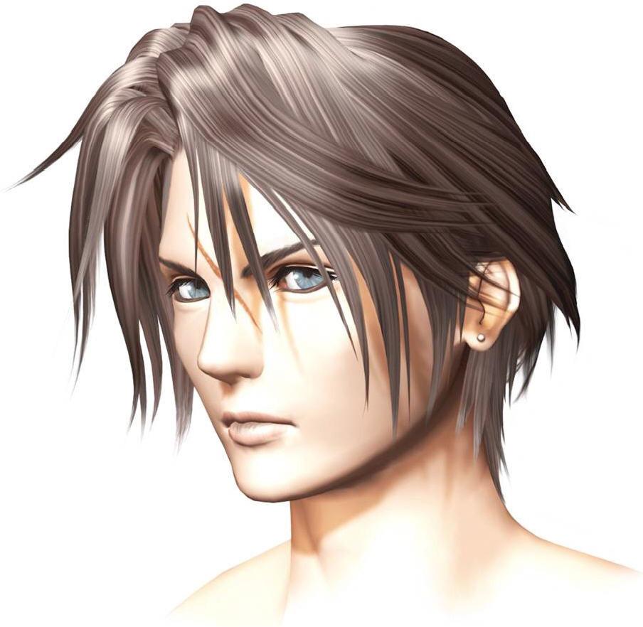 Final Fantasy Squall Squall leonhart Final Fantasy Rinoa And Squall