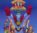 El Capitán Planeta y los planetarios