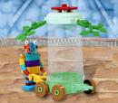 7445 Stripy's Flower Cart