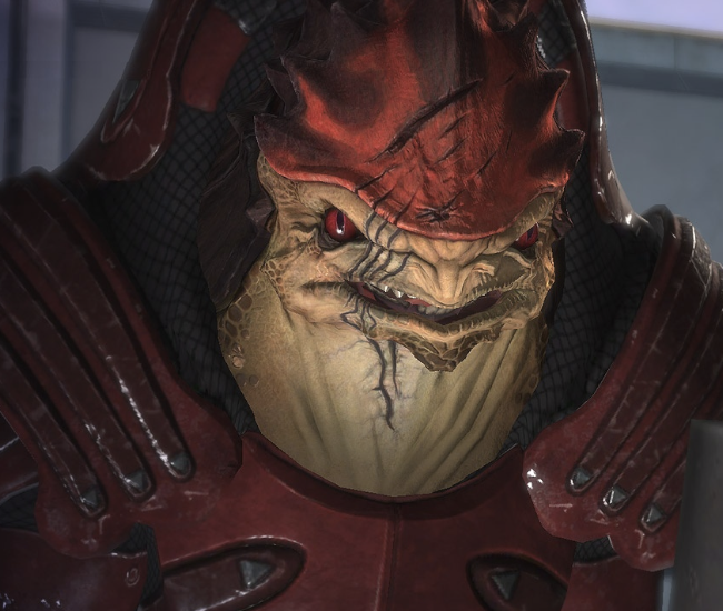 Mass effect 1 -2 -3  Wrex_Character_Box
