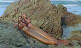 Rikki and Emma on Rocks