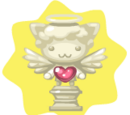 Luminous Pet Angel Statue