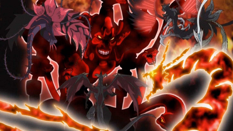 Battle with the Crimson DevilYugioh 5ds Red Nova Dragon