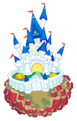 Disney Castle KHII
