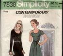 Simplicity 7838