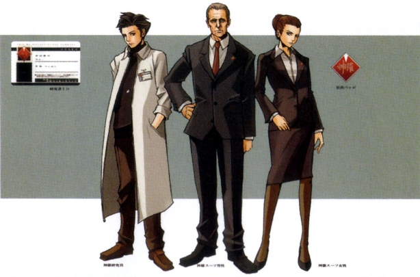 Shinra employees.