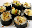 What type of seaweed is used to make sushi?