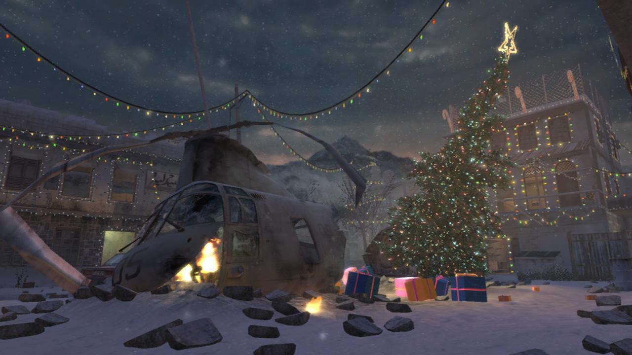 Beautiful Wallpaper Minecraft Christmas - Bare_Load_Screen_Winter_Crash_CoD4  Picture_74421.jpg