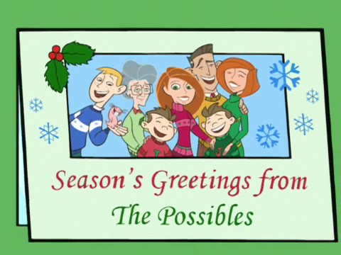 Image - Seasons Greetings from The Possibles.jpg - Kim Possible Wiki