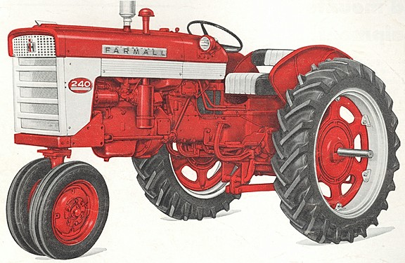 1958 International Tractor : Farmall tractor construction plant wiki the