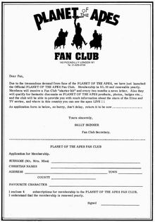 Fan club form