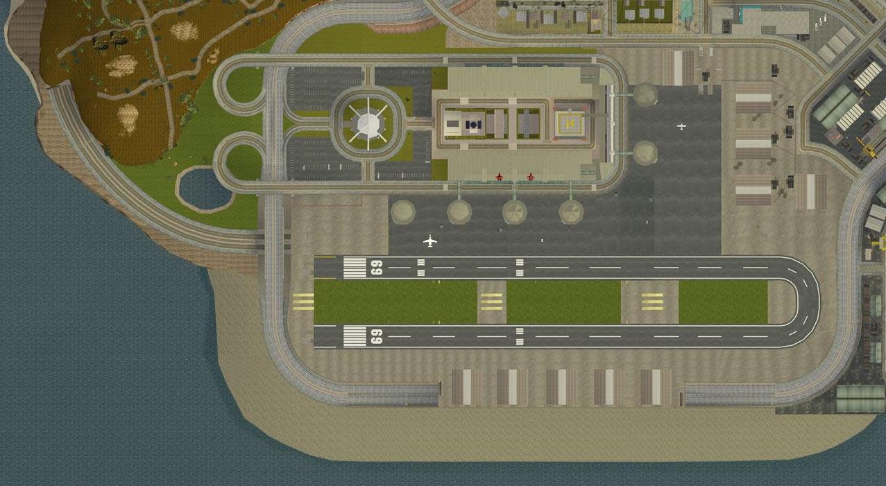 Image - LosSantosInternationalAirport-GTASA-map.jpg - GTA ... San Andreas Los Santos Map