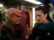 Dax, Kira und Quark