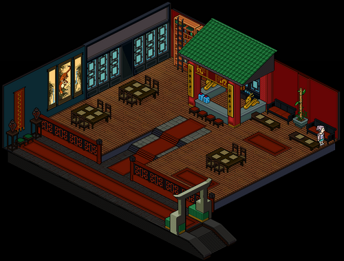 Chinese Tea Room - Habbo Wiki: The wiki about everything ... - photo#32