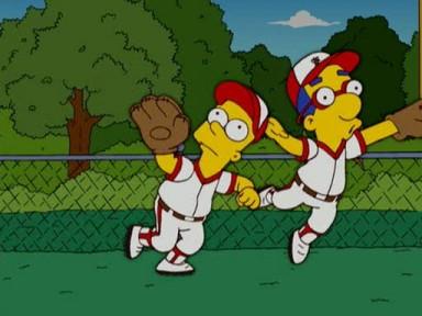 Angeles Jugando Bolos Los Simpsons Angeles Jugando Bolos
