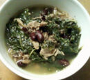 Kale and Azuki Beans by JayMan3