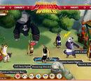 Kung Fu Panda World screenshots