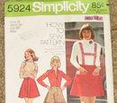 Simplicity 5924 A