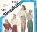 Simplicity 6433