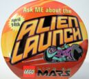 Pin38 Life on Mars Alien Launch