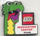 Pin77 Imagination Center Orlando - Sea Serpent Head