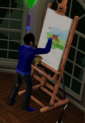 Painting The Sims Wiki