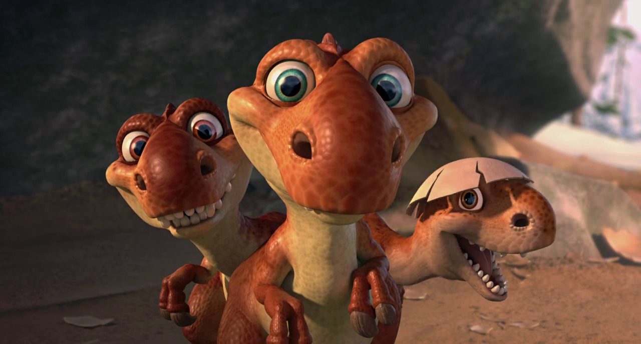 Baby Dinos - Ice Age 3 Wiki