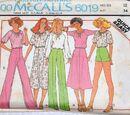 McCall's 6019 A
