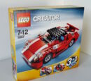 Roter Sportwagen 5867