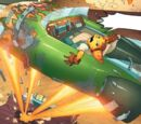 Ratchet & Clank comic series vehicles
