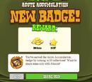 Acute Accumulation Badge