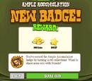 Ample Accumulation Badge