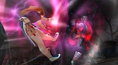 Confrontation avec Raidou DOA3D_Kasumi_Raidou