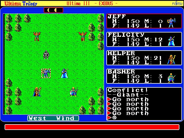 Только в серии Ultima был Ultima (9 частей)- первые 5 частей вышли еще